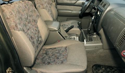 Nissan Patrol GR 2.8 TurboD, Typ Y61 de segunda mano asientos