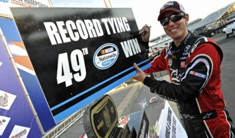 Kyle Busch, piloto de NASCAR