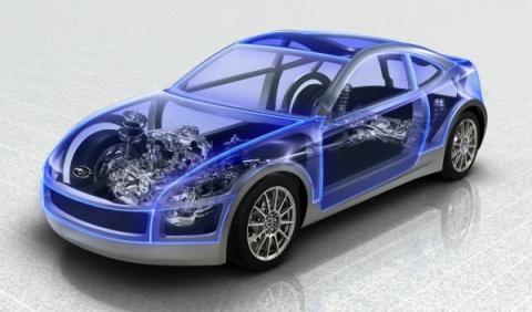 Diseño del Subaru BRZ