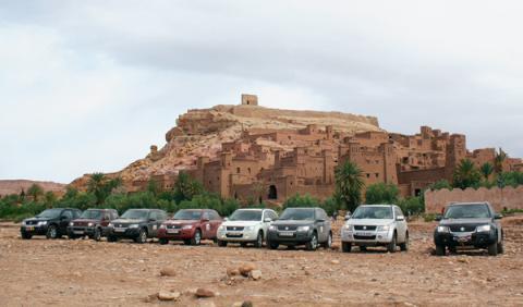 Suzuki Marruecos todoterreno frontal