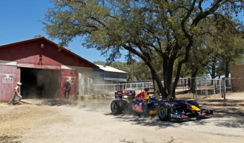David Coulthard en el futuro circuito de Austin