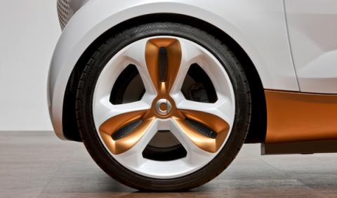 Smart Forvision rueda