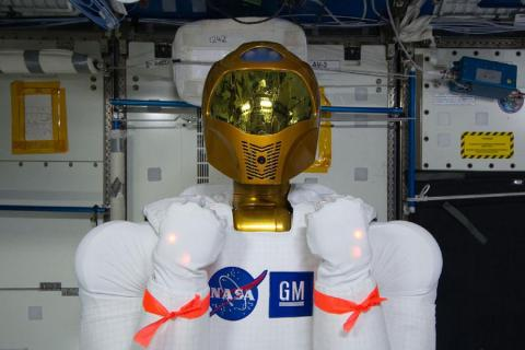 Robonaut 2 Centro Espacial Johnson ISS NASA GM