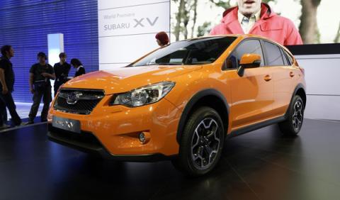 Subaru XV Salón de Frankfurt 2011