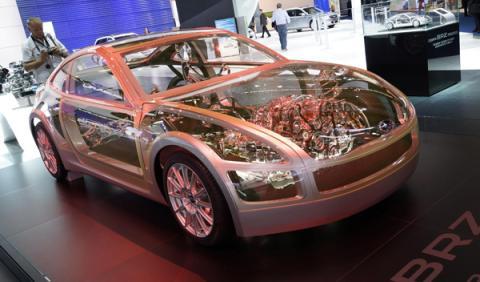 Subaru BRZ Salón de Frankfurt 2011