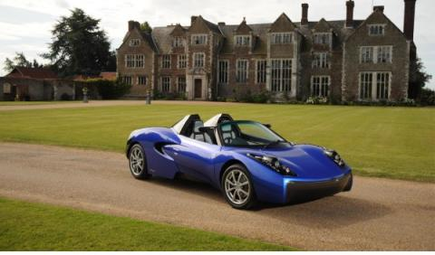 Teewave AR.1 el nuevo coche eléctrico de Gordon Murray