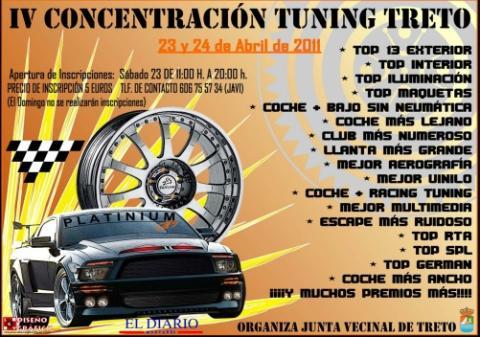 Concentraciones tuning: próxima parada, Treto