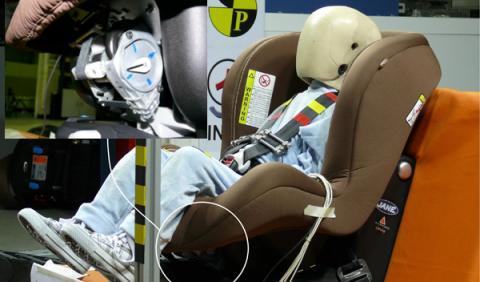 Inventan una silla infantil un 30% más segura