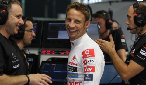 McLaren renueva a Jenson Button