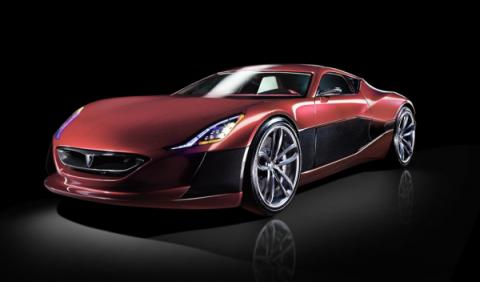 Rimac Concept_One frontal