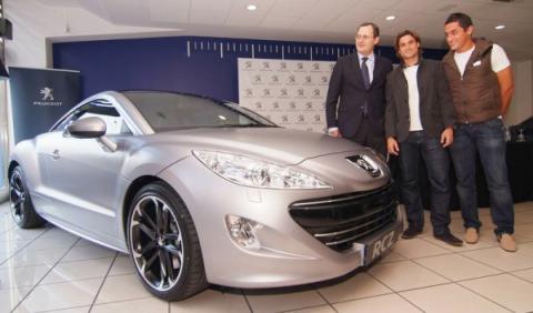 Ferrer, Almagro y el Peugeot RCZ