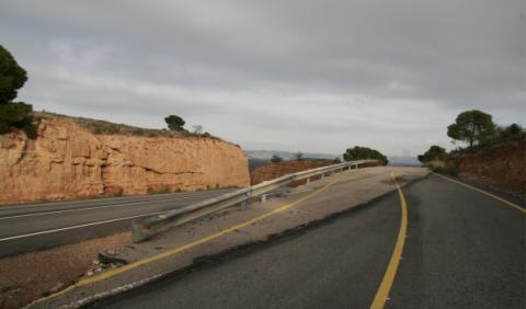 el mal estado de las carreteras