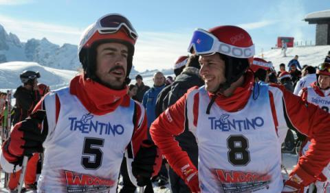 Fisichella asegura que Alonso es el mejor piloto en activo