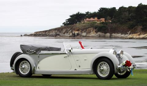 El Museo de Porsche expone el Austro Daimler 'Bergmeister'