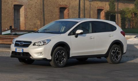 Subaru XV delantera