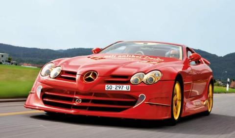 Anliker SLR 999 Red Gold Dream