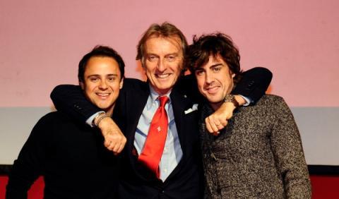 Montezemolo alaba la temporada de Alonso en Ferrari