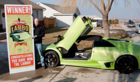 Ganador de un Lamborghini