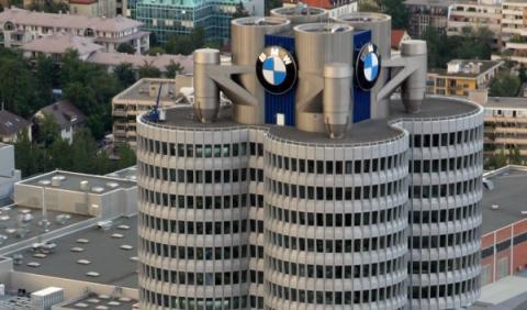 Sede de BMW en Múnich, Alemania