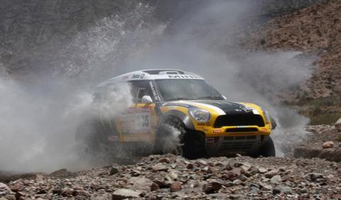 Dakar 2012 'Nani' Roma 305 Mini tercera etapa