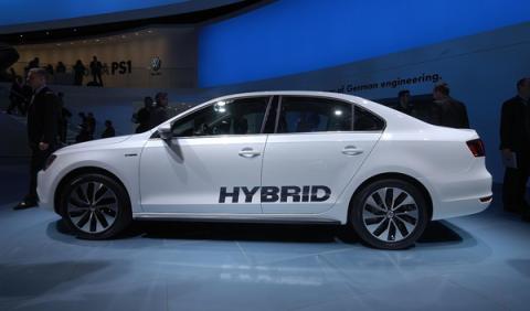 Volkswagen Jetta Hybrid salon detroit 2012