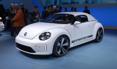 Volkswagen e-bugster salon detroit 2012