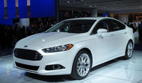ford mondeo salon detroit 2012