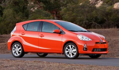 Toyota Prius c - Salón de Detroit 2012