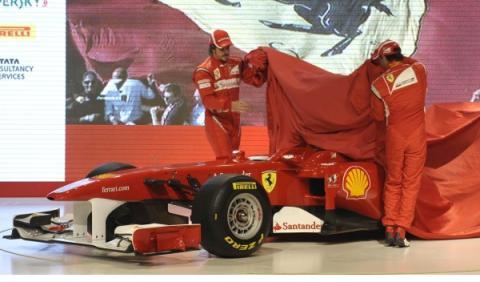 Presentación Ferrari 2011
