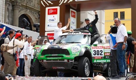 Dakar 2012 final mini peterhansel
