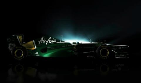 Caterham CT01, el primer coche para el Mundial de F1 2012