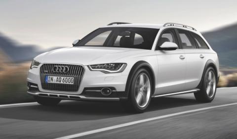 Nuevo Audi A6 allroad frontal
