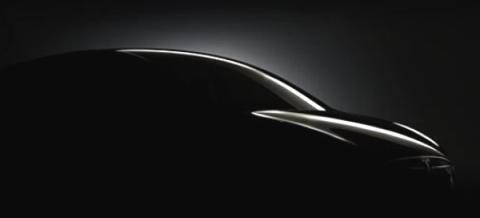 Tesla Model X teaser