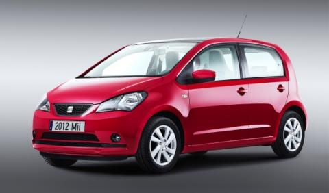 Seat Mii 5p frontal lateral