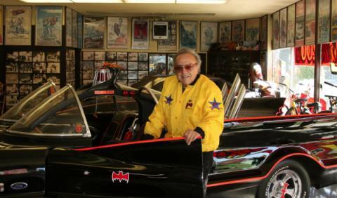 George Barris coches de película