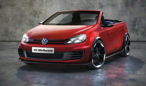 Volkswagen Golf Gti Cabrio concept worthersee 2011