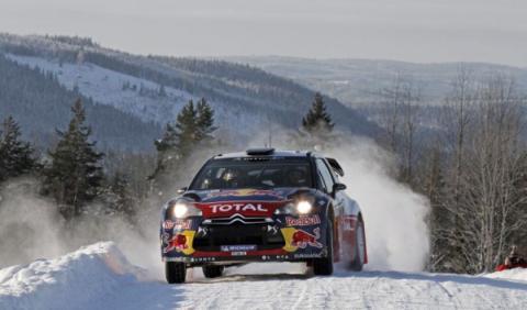Hirvonen ya es líder del Rally de Suecia 2012