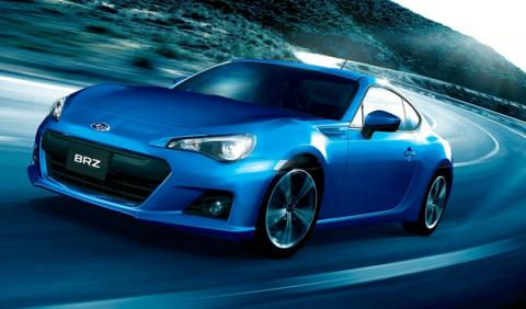 Nuevo Subaru BRZ 2012.