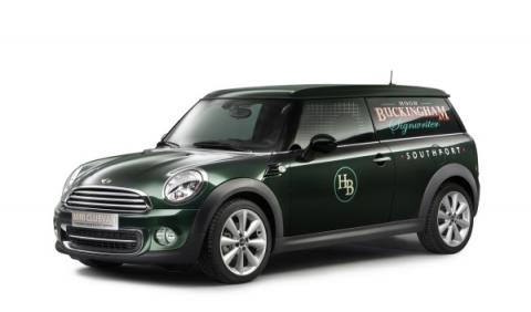 Mini Clubvan Concept frontal lateral