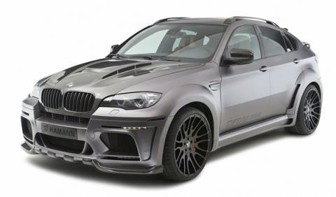 Hamman Tycoon EVO M parte delantera para el BMW X6.