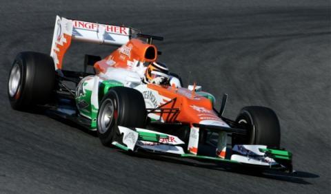 Nico Hulkenberg-Force India VJM05