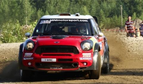 Sordo prueba el Mini WRC antes del Rally de Portugal 2012