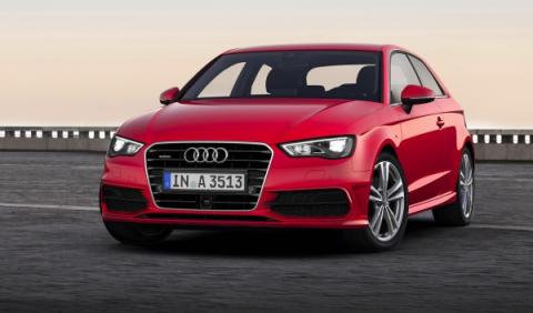 nuevo Audi A3 2012 estática frontal