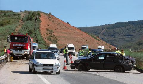 Accidente de tráfico con muertos