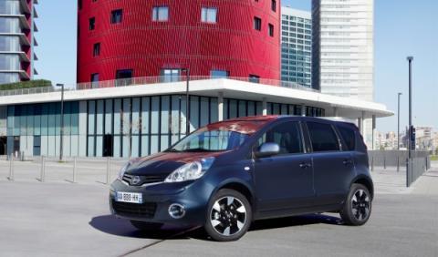 Nissan Note 2012 estática frontal
