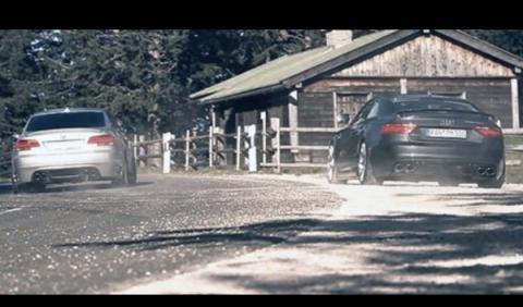 Audi RS5 y BMW M3, auténtica melodía sinfónica