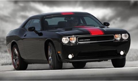 Delantera del Dodge Challenger Rallye Redline