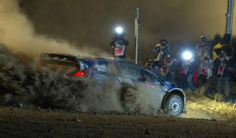 Latvala, primer líder del Rally de Portugal 2012
