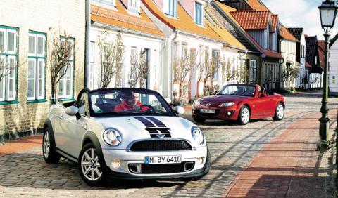 mini roadster mazda mx-5 legendario