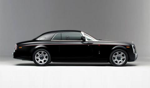Rolls-Royce Phantom Mirage perfil